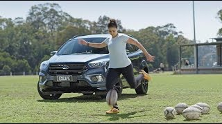 Sportiest Car Review Ever: Tanisha Stanton, Rugby Sevens | Ford Escape ST-Line
