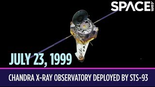 OTD in Space – July 23: Chandra X-Ray Observatory Deployed by STS-93