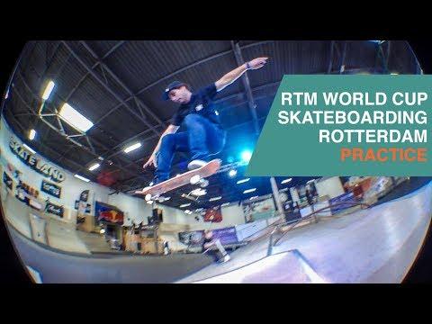 RTM World Cup Skateboarding Rotterdam (Egor Golubev, Christopher Khan, Douwe Macare