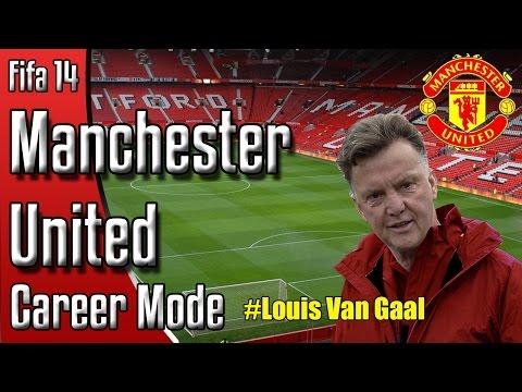 Fifa 14 Manchester United Career Mode #1 Louis Van Gaal!