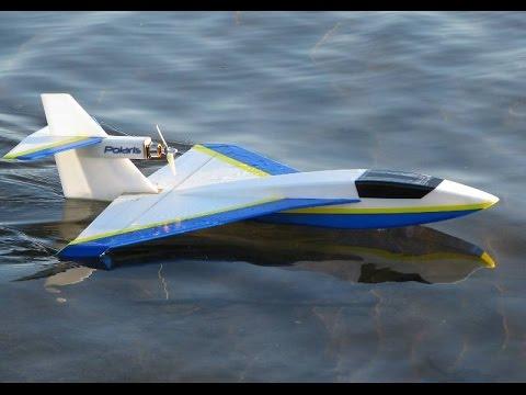 Летающая лодка из потолочки Polaris