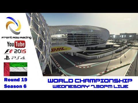 Front Row Racing World Championship Abu Dhabi round 19 season 6