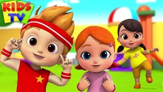 Head Shoulders Knees and Toes | Boom Buddies Cartoons & Songs For Children - Kids TV