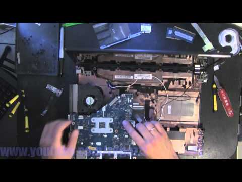 ACER ASPIRE 5552 take apart video. disassemble. how to open disassembly