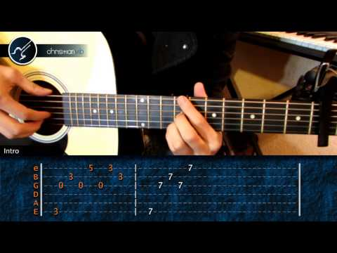 Como tocar My Immortal en Guitarra (HD) Tutorial Arpegio