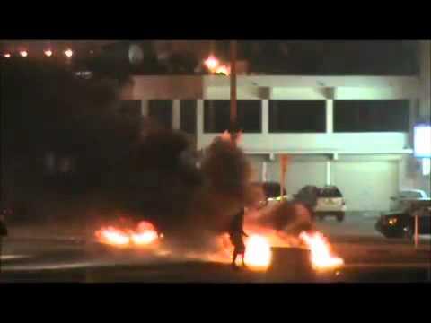 #Bahrain 12/1/2012 #Aali Gas Cylinder Explosion