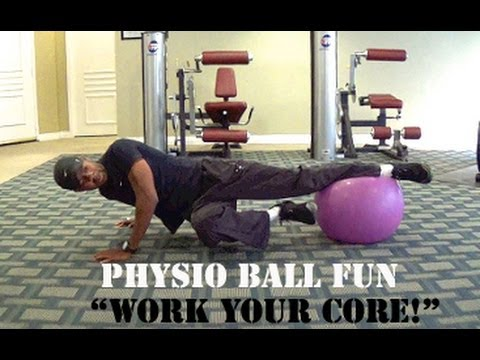 Best Beginners Abs: Physio Ball Fun