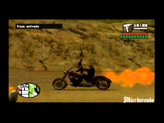Como conseguir la moto de Ghost Rider (GTA San Andreas)