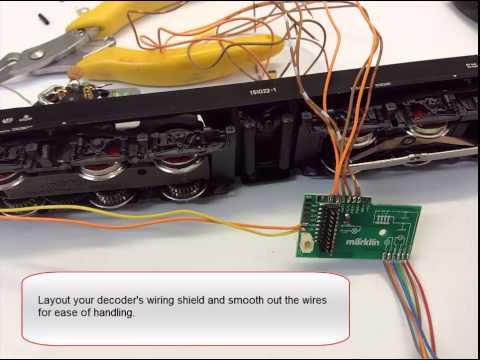 Tutorial - Converting a Marklin Analogue Electric Locomotive to Digital
