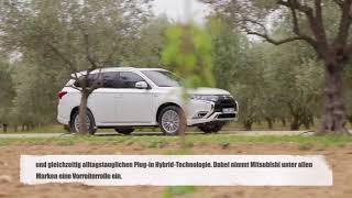 Mitsubishi Outlander Plug-in Hybrid - 200.000 Technologie-Trendsetter weltweit