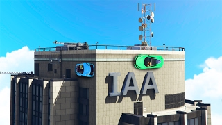 CARS DRIVING ON BUILDINGS! (GTA 5 Funny Moments)