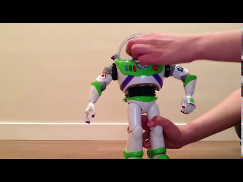 Buzz Lightyear Disney Store Toy Review