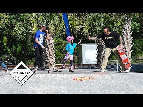 Hot Wheels Junior Series at Zephyrhills Skateboarding Contest