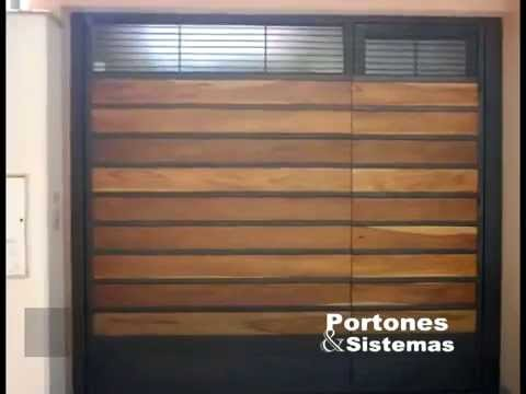 Fotos de portones youtube for Puertas para casas minimalistas