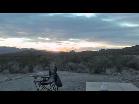 Desert Sunrise in Terlingua, TX