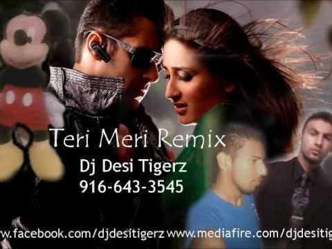 Teri Meri Prem Kahani Remix - Dj Desi Tigerz (bodyguard) Hindi New 2011 Remix video
