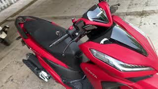 Đánh giá chi tiết Honda Vario 150 2019 Matte Red (Đỏ Nhám) | Phần 2