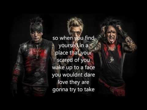 SIXX AM we will not go quietly lyric video