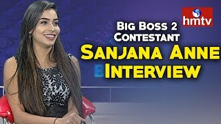 Big Boss 2 Contestant Sanjana Anne Special Interview  | hmtv