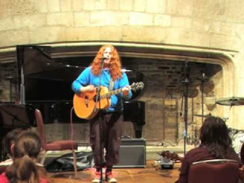 James Aldridge - The Girl with the Clouds in Her Eyes - Live at Dartington Great Hall
