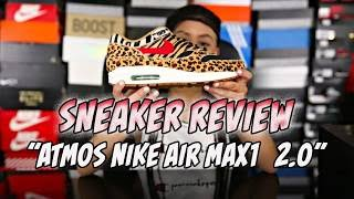 "BABY KAELY ""Sneaker review"" Atmos x Nike air max1(Animal)  2.0"
