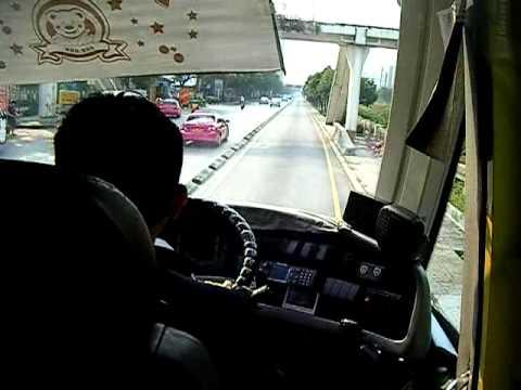バンコクのバス・ラピッド・トランジットBRT_4 Bus Rapid Transit in Bangkok