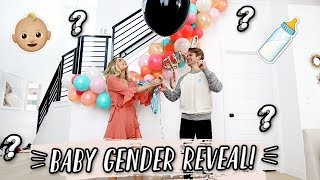 OFFICIAL BABY GENDER REVEAL! 👶🏼| Aspyn + Parker