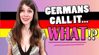 STRANGE German Words for BODY FEATURES