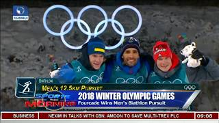Winter Olympics Bach Is Impressed With The Game So Far |Sports This Morning|