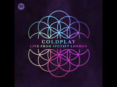 Coldplay - Christmas lights Live at Spotify London