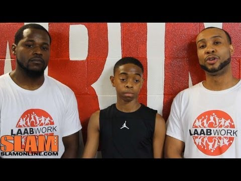 Damon Harge Workout - Class of 2018 - Kenneth Bates LAAB Work