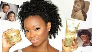 My Family & Natural Hair   Refreshing My Curls Using Pantene Gold Series