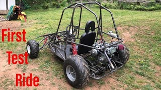 building the two speed off road go kart part 5