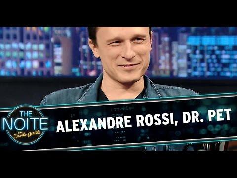 The Noite (11/08/14) - Entrevista com Alexandre Rossi, o Dr. Pet