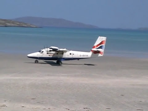 Barra Airport, Isle of Barra, Scotland