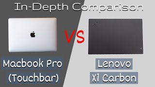Is Lenovo X1 Carbon better than Macbook Pro Touchbar in 2019?