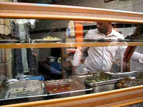 Falafel Shop, Sharia as-Souq, Aswan, Egypt