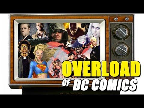 DC Comics Television Overload