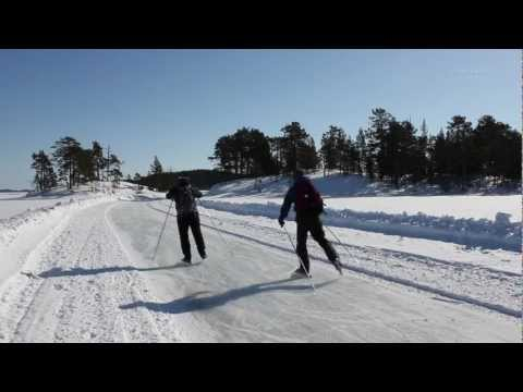 Tour Ice Skating National Park Porosalmi Finland