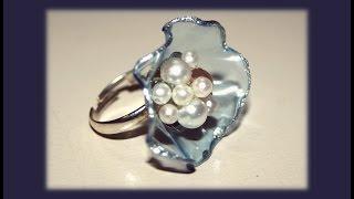 Кольцо своими руками за 1 МИНУТКУ !!! Изящное украшение.  hand-made
