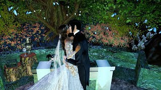 The Wedding of Heavenly & Sebastian Second Life