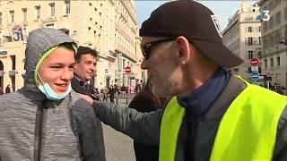 Portrait du gilet jaune marseillais Franck Rhit