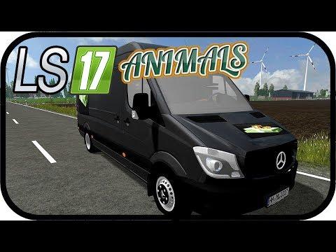 LS17 ANIMALS - Geldtransporter für die Kassetten #164 - LS17 NORDFRIESISCHER MARSCH 4 FACH ★Deutsch