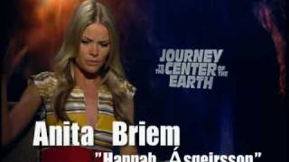 Anita Briem interview for Journey to the Center of the Earth