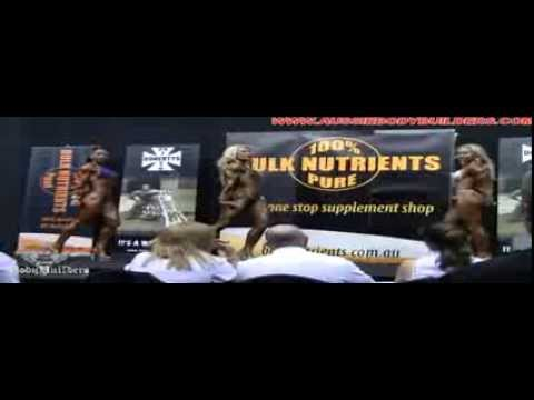 2011 Australian Amateur GP- Figure Open Comparisons