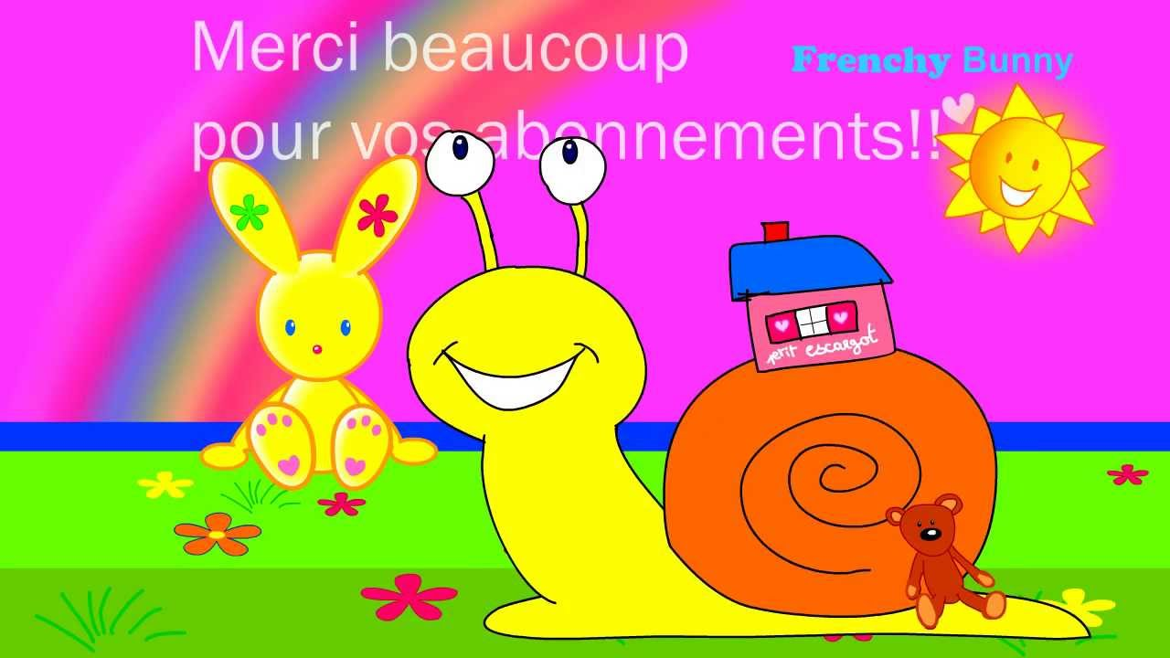 petit escargot chanson et comptine enfant frenchy bunny youtube. Black Bedroom Furniture Sets. Home Design Ideas