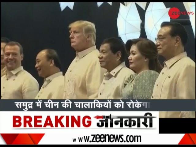 PM Modi meets President Trump in Manila   ट्रंप की 'दोस्ताना मिसाइल'