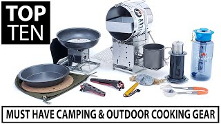 Top 10 Bushcraft, Camping & Outdoor Innovations! Cooking With Fire!