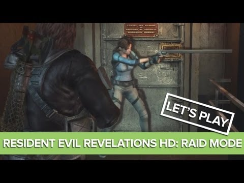 Let's Play Resident Evil Revelations HD Raid Mode - Jill's Giant Magnum! Door Trouble!