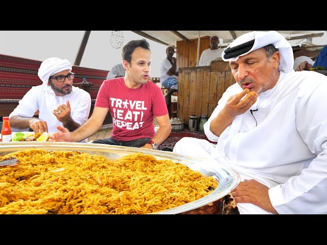 Dubai Food -INSANE SEAFOOD Feast and BEST Juicy BBQ Fish in the UAE!